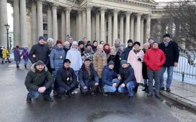 Отметили день рождения нашей компании в Санкт-Петербурге